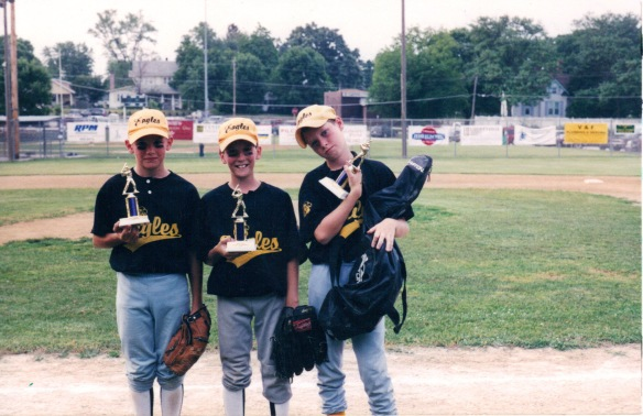 Quentin, Colton, and College Boy when they won the championship in 2003.