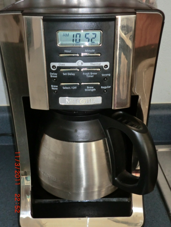 Coffeemaker with Thermal Carafe