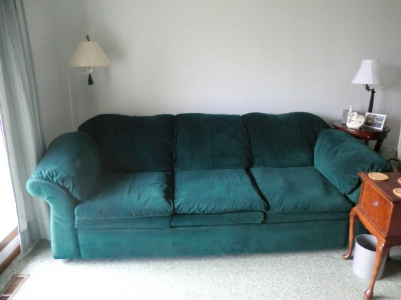 My former sofa.
