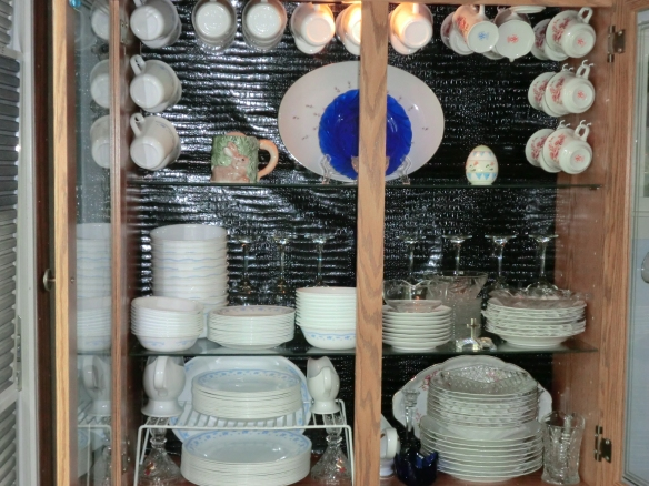 My china cabinet.
