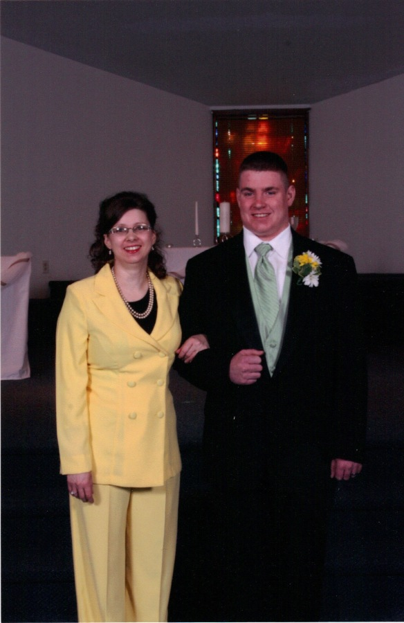 The suit I wore to my son's wedding. it will become my Easter outfit this weekend.(Photographer - timestocherish.com)