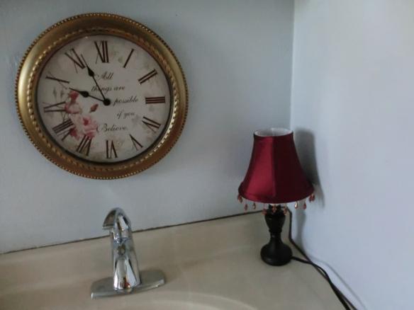 My new bathroom lamp!
