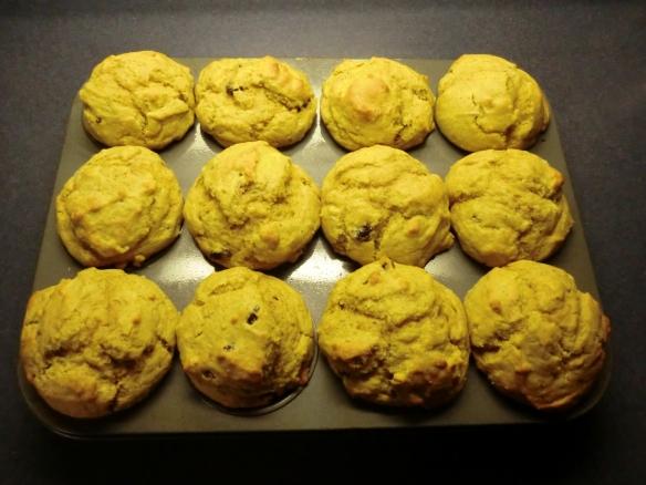 Pumpkin Jumbo Muffins