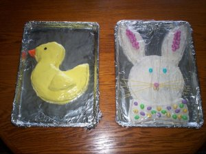 My 2011 Easter Cakes