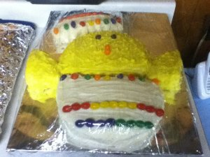 My 2012 Easter Cake