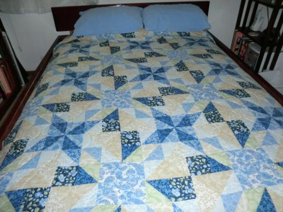 My summer bedspread.