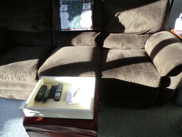 My free tanning couch!