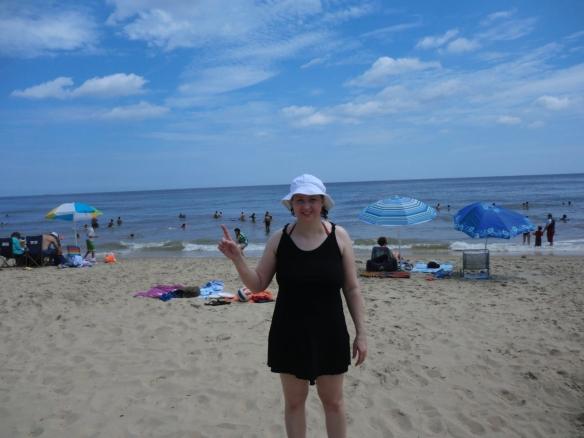 Virginia Beach in 2012. Seeing the ocean was the number one item on my bucket list.