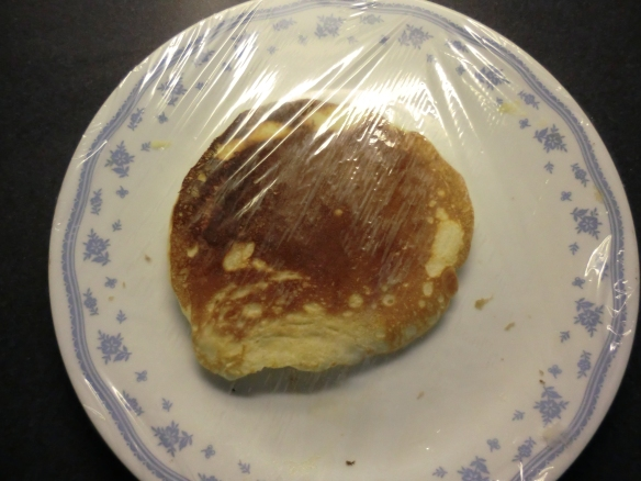 Mr. Frugalfish's Vanilla Pancakes.