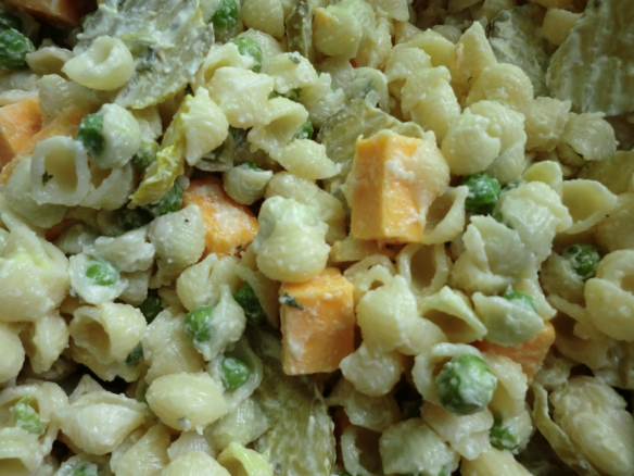 Easy Peasy Macaroni Salad.