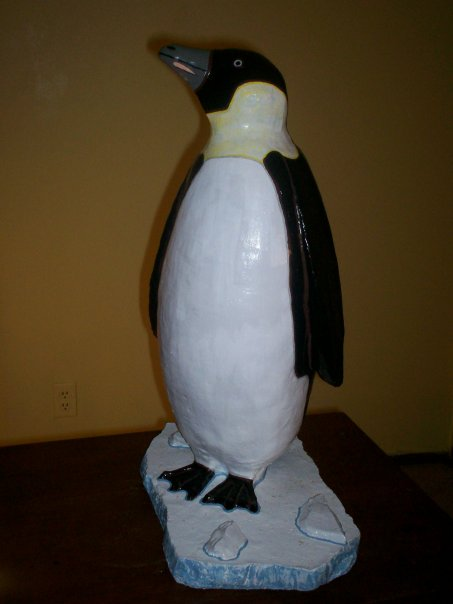 Penguin I restored.