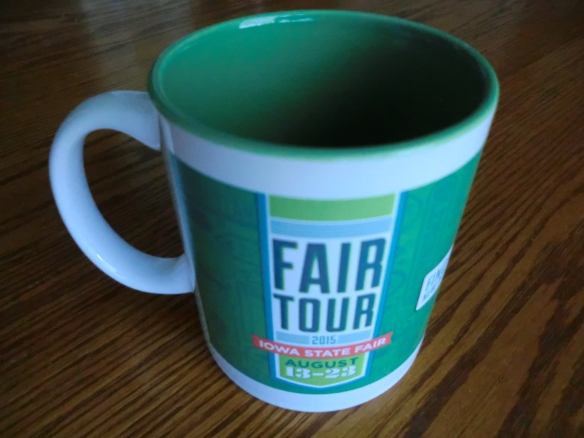 Cup my friends got me from the State Fair.