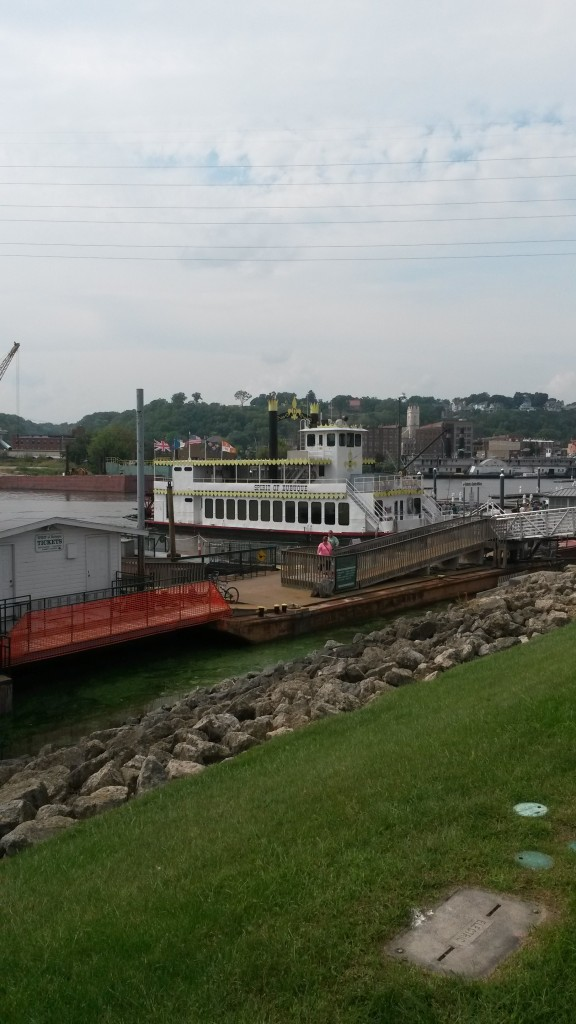 The Spirit of Dubuque Steamboat