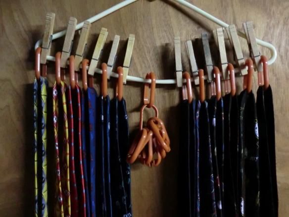 DIY Tie Organizer