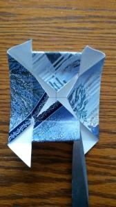 5. Cut sides to 2nd fold.