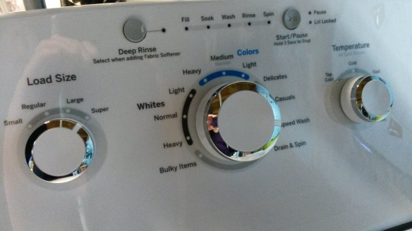 Washing Machine Panel