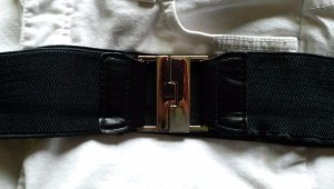 Belt on top of jeans