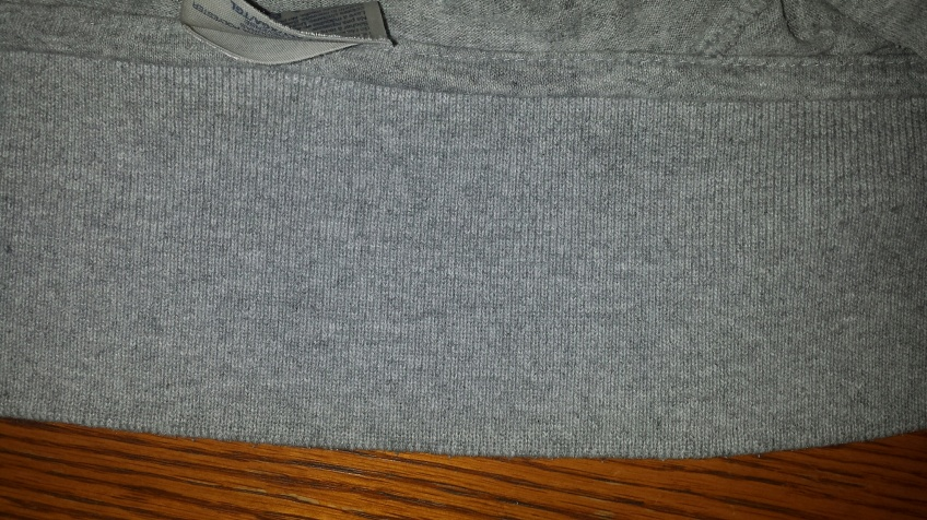 Clean shirt collar