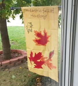 "October flag, ""October Birthday Decorations"" frugalfish.org"