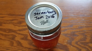 "Tea in jam jar ""Last Taste of Summer"" frugalfish.org"