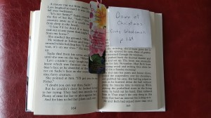 "Open Book ""De-stress Christmas"" frugalfish.org"