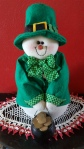 "Irish Snowman ""St. Patrick's Day 2017"" frugalfish.org"