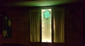 "Lighted Shamrock Wreath ""St. Patrick's Day 2017"" frugalfish.org"