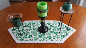 "St. Patrick's Day Tablescape ""St. patrick's Day 2017"" frugalfish.org"