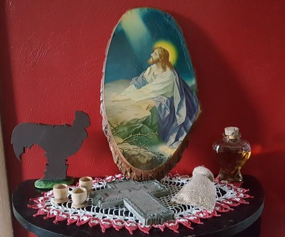 """Easter Vignette """"Lilac Easter"""" frugalfish.org"""