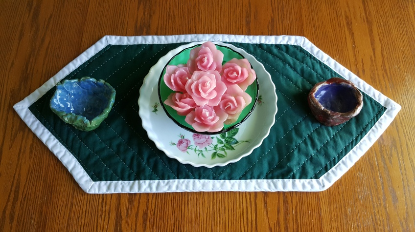 """Bowl of Roses with Clay Pots """"Displaying Precious Artwork"""" frugalfish.org"""