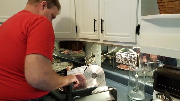 "David Cutting up a Pork Loin ""Same Price for Pork Chops or Roast"" frugalfish.org"