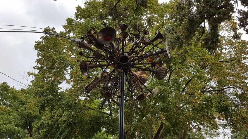 """River City Sculpture, """"Weekend in Mason City and Clear Lake, Iowa"""" frugalfish.org"""