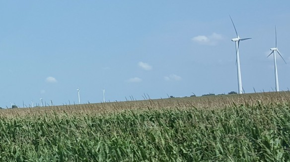 "Wind Energy Farms, ""Weekend in Mason City and Clear Lake, Iowa"" frugalfish.org"