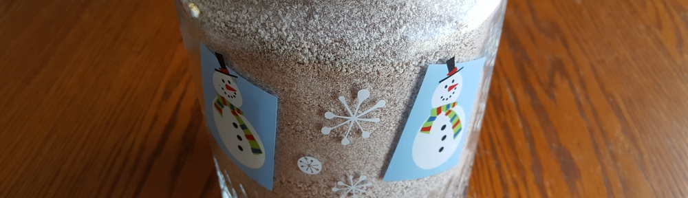 "Jar of Hot Chocolate Mix ""2017 Thanksgiving Table"" frugalfish.org"