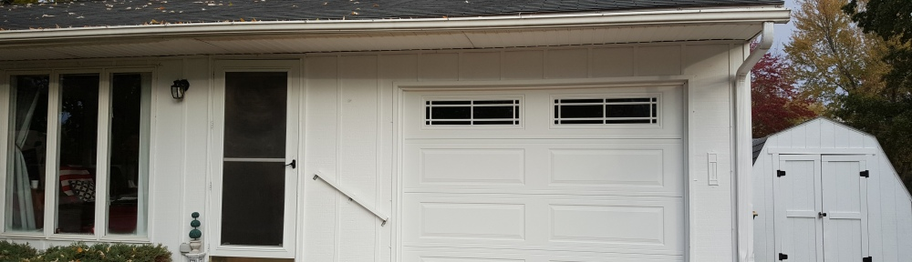 "New Garage Door and Freshly Painted House ""Two Words to Get Anything"" frugalfish.org"