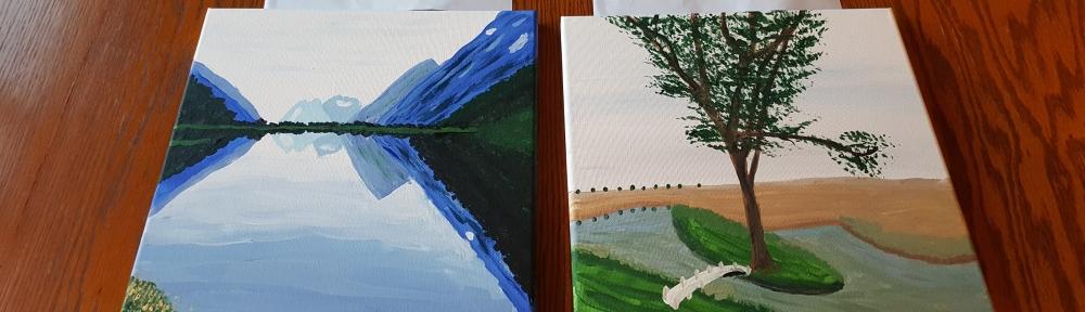 "Painted Memories ""My Most Sentimental Gift"" frugalfish.org"